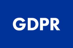 GDPR logo, voor een AVG veilige website